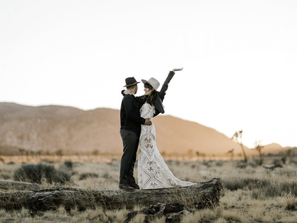 Joshua Tree Boho Wedding