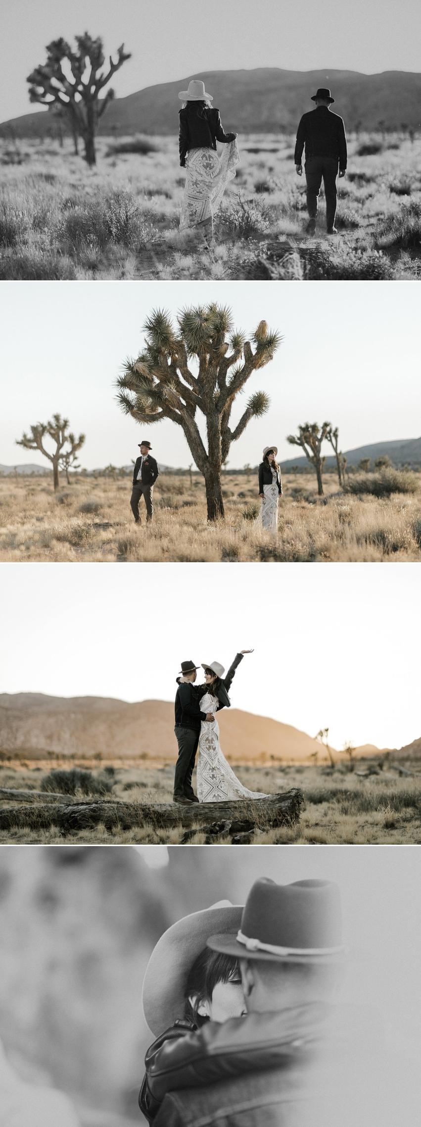 Joshua Tree Boho Wedding