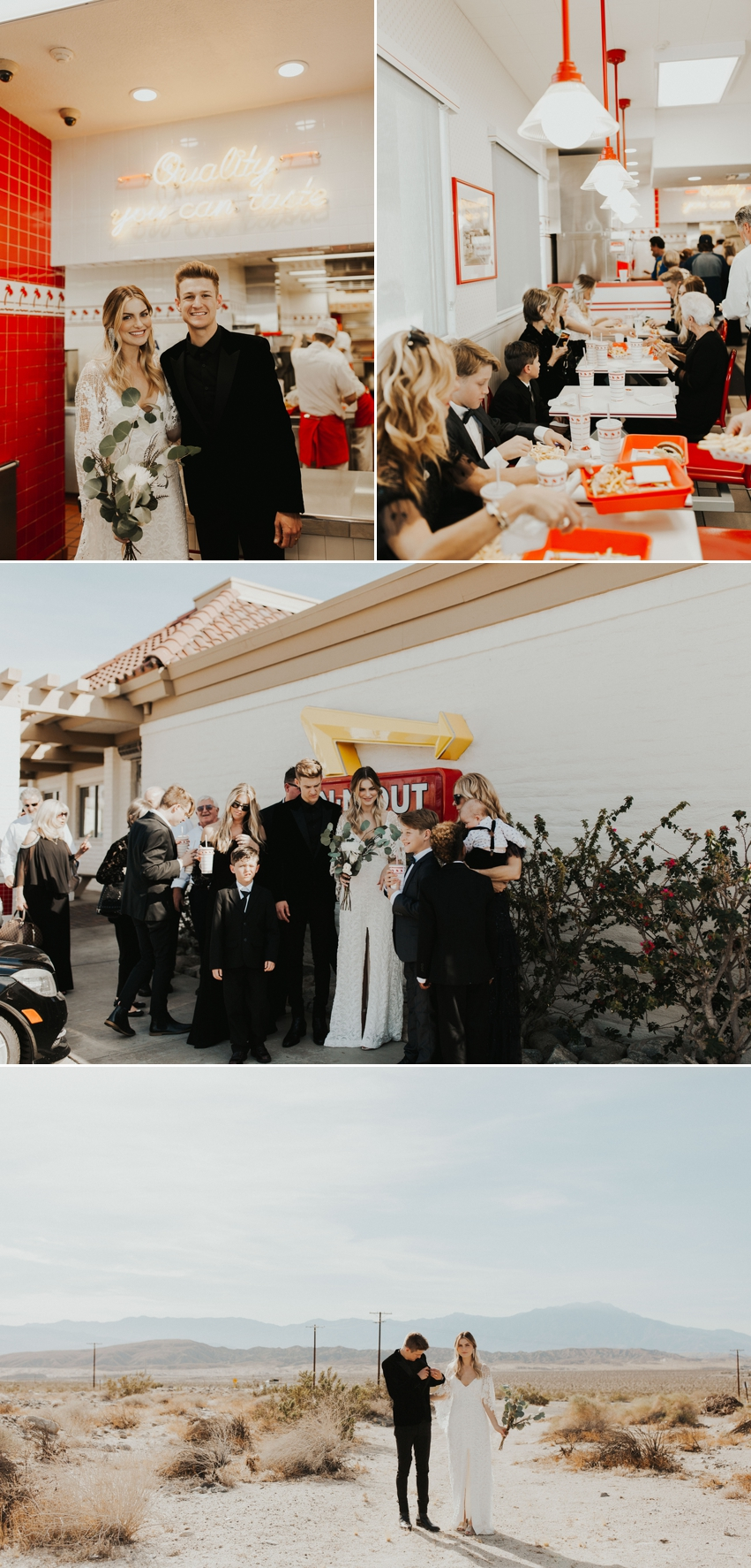 In-N-Out Burger Wedding