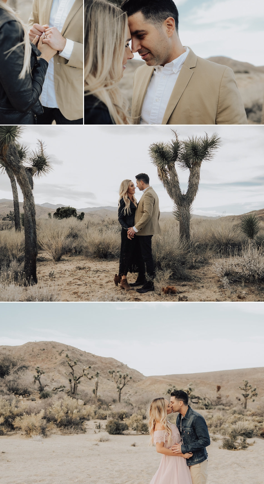 Anniversary Session In Joshua Tree