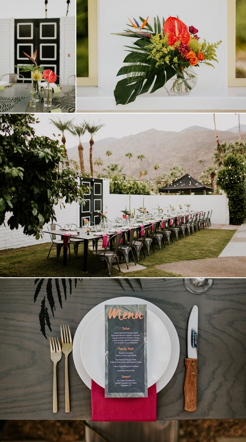 Palm Springs Wedding House