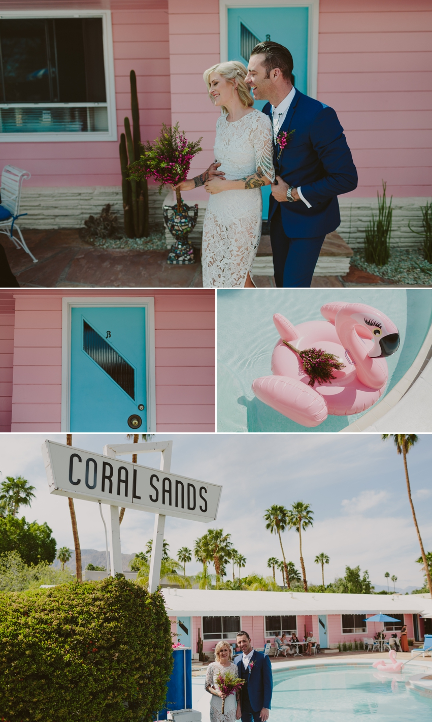 Coral Sands Inn Wedding