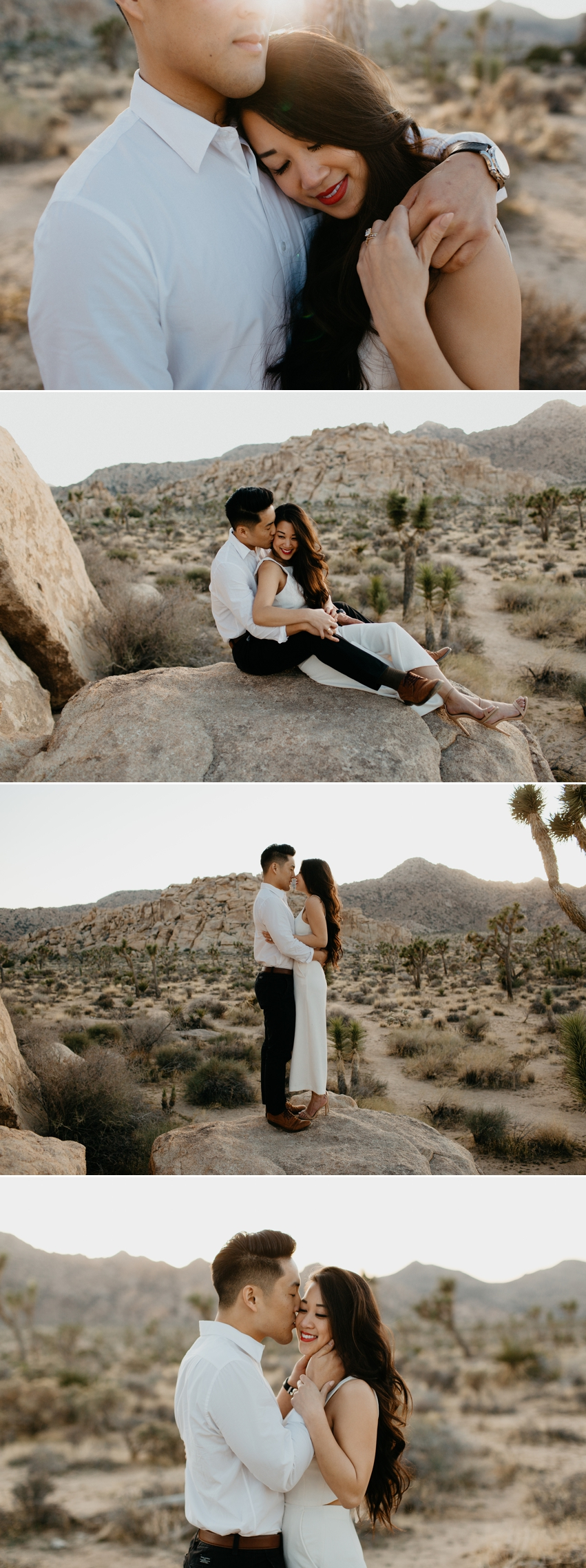 Engagment In Joshua Tree