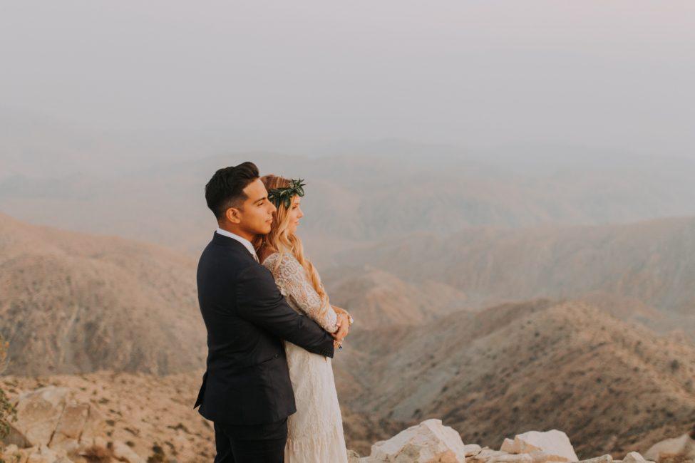 Boho Palm Springs Bride