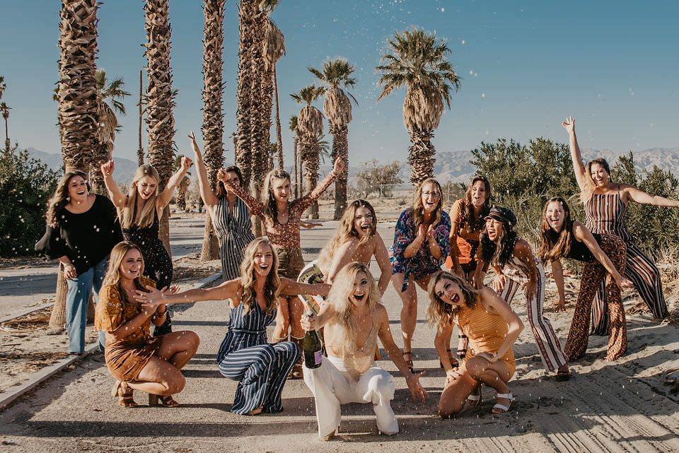 Bachelorette Party Palm Springs